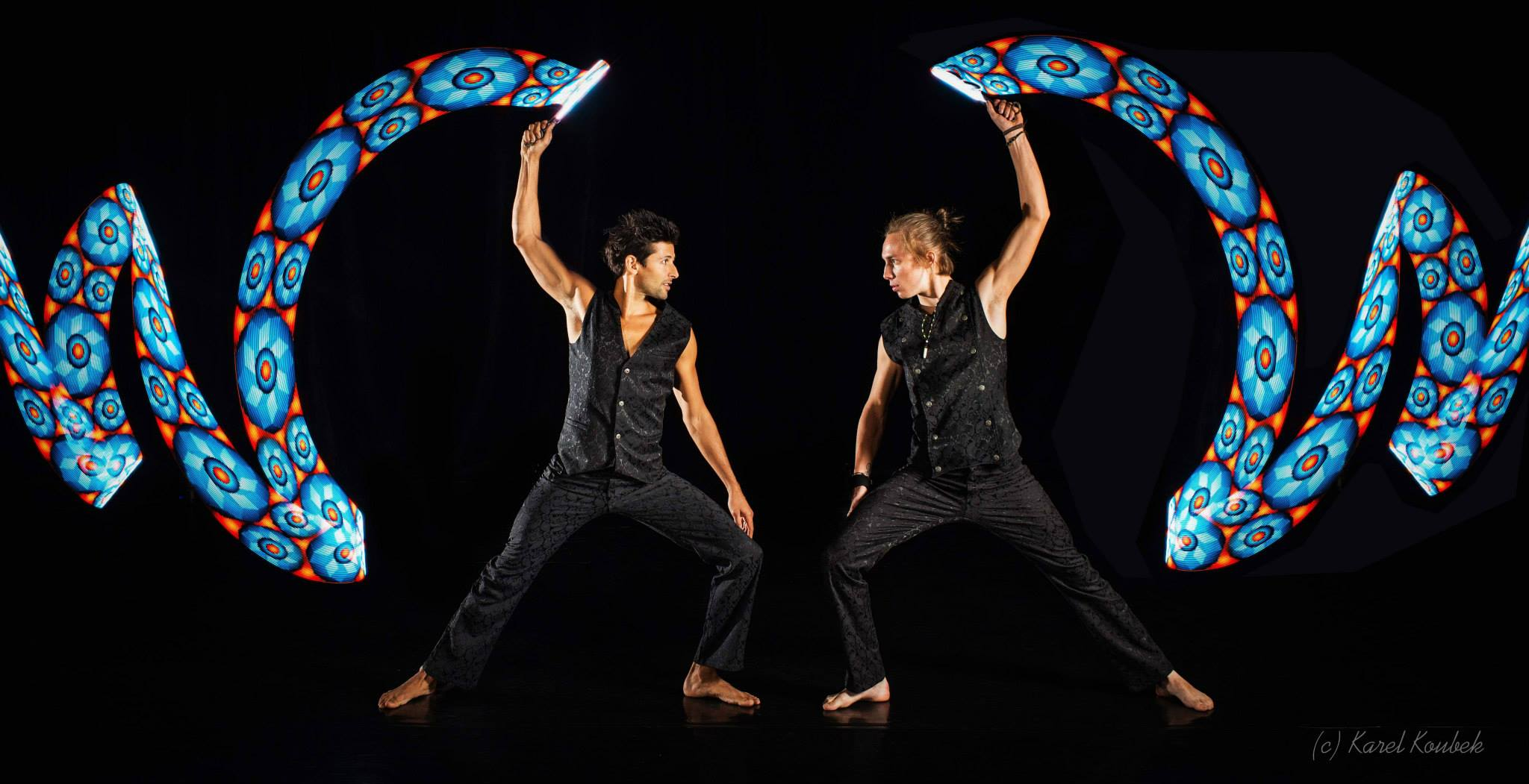 Vojta and Srikanta Barefoot